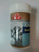 8in1 Excel (brewers yeast) забота о коже и шерсти 140таб.