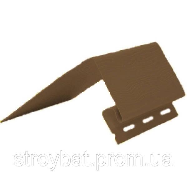 Околооконная планка fasiding коричневая