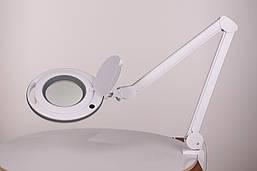 Настільна лампа-лупа LS-6027 LED 5D (5 діоптрій)