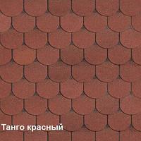 Битумная черепица Shinglas Танго бобровый хвост красный