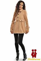 Полупальто кашемировое 2в1:беременность, обычное пальто.