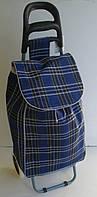 Хозяйственная сумка-тележка для закупок 37 л с запасными колесами