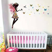 Детские интерьерные виниловые наклейки на стену , детскую комнату, детского сада (048)