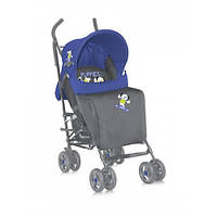 Коляска-трость  Bertoni FIESTA ЧЕХОЛ (blue grey puppies)