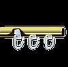 Tруба с пазом Ø16мм
