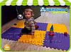 Детский коврик для ползания модульный (12 элементов)