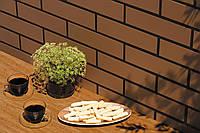 Плитка для фасада Brąz szkliwiony 9683 Strukturalna 245 x 65 x 6,5