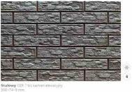Плитка для фасада CER 7 bis - Steely 6415 Strukturalna 300x74x9