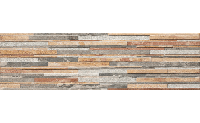 Плитка для фасада Stone ZEBRINA PASTEL 6644 Strukturalna 600x175x9