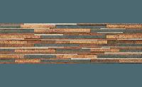 Плитка для фасада Stone ZEBRINA RUST 6507 Strukturalna 600x175x9