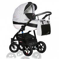 Детская коляска VERDI PEPE Eco Plus 3/1, 03 черный/белый
