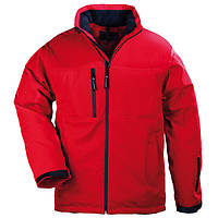 Куртка на молнии утепленная дышащая красная Yang Winter. Размеры L, XL