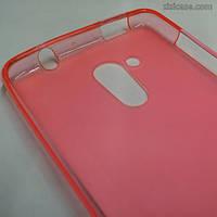 Силиконовый чехол для Acer Liquid Z500 (розовый)