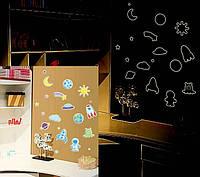 Детские интерьерные виниловые наклейки на стену , детскую комнату, детского сада (050)