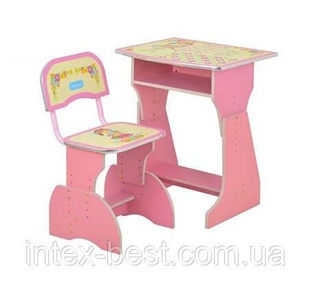 Регулируемая детская парта растишка со стульчиком Bambi HB-2029UK-02