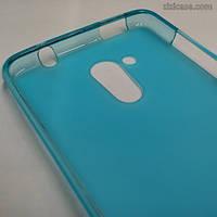 Силиконовый чехол для Acer Liquid Z500 (голубой)