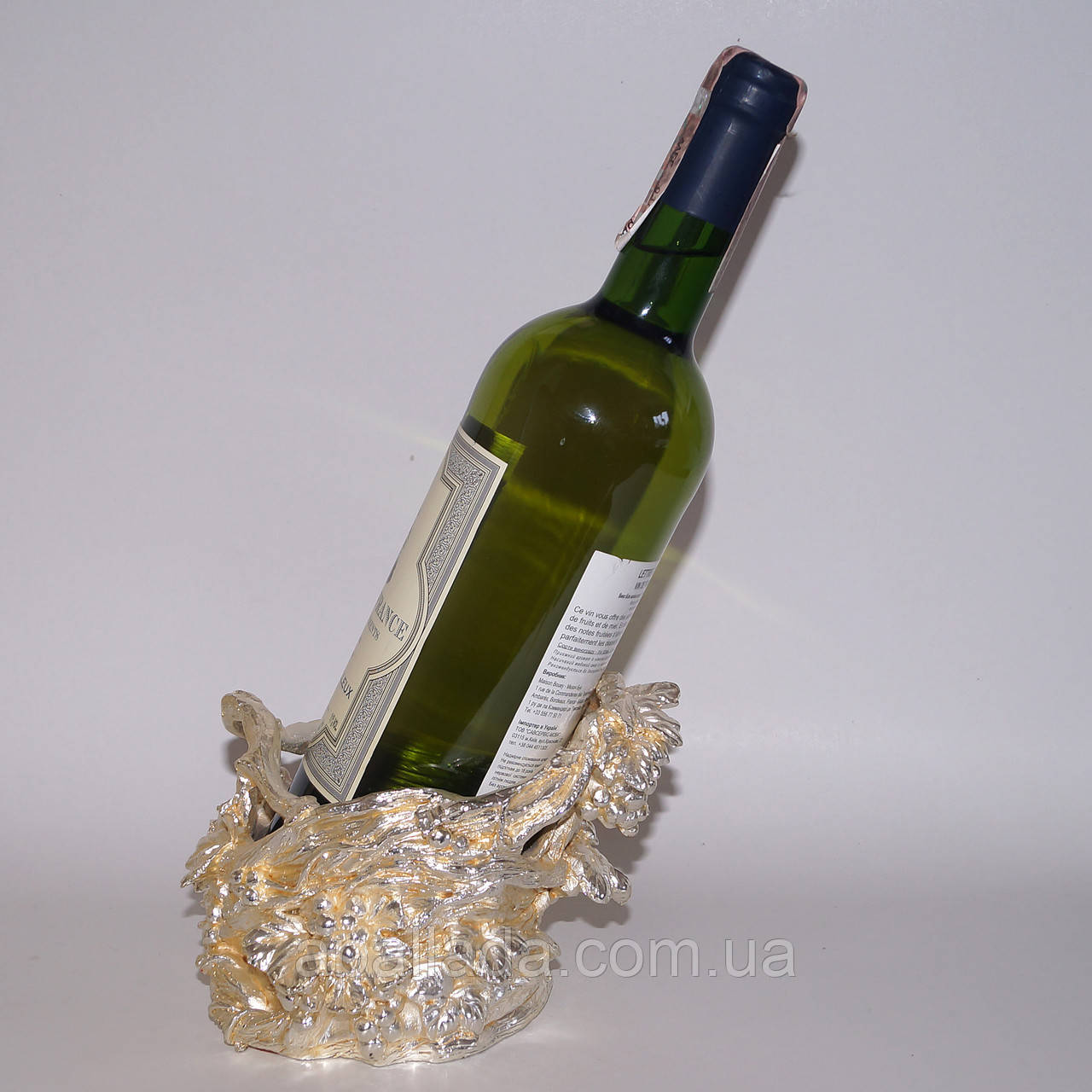 "Подставка для бутылки ""Лоза винограда"""