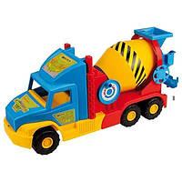 Детская машинка- бетономешалка Wader (Вадер) «Super Truck» 36590