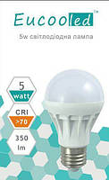 EUKOOLED  Led лампа 5w E27 6400K