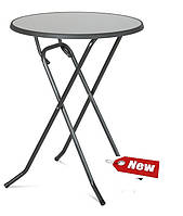 Стол для бара раскладной  DINE pizzara / antracyt D 85х110см
