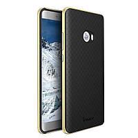 Чехол накладка IPAKY TPU + бампер PC для Xiaomi Mi Note 2 золотой