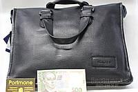 Кожаный портфель Eligius (Турция) черный