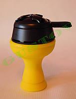 Комплект силиконовая чаша Фанель и калауд Лотус Lotus (Черный).