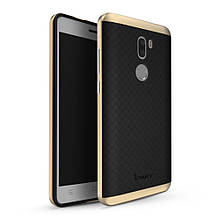 Чехол накладка IPAKY TPU + бампер PC для Xiaomi Mi 5s Plus золотой