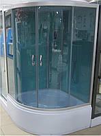 Гидромассажный бокс BADICO ECO 5510 100х100х212 с глубоким поддоном