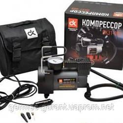 Компресор, 12V, 10Атм, 35л / хв, ліхтар LED, спускний клапан, прикурювач