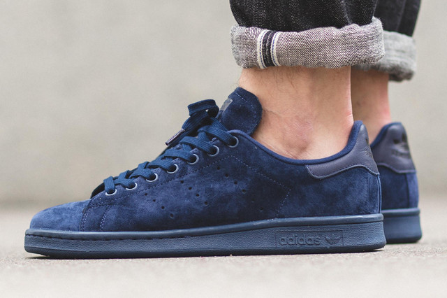 Adidas Stan Smith Navy Blue Suede