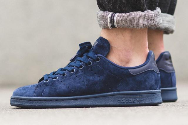 Adidas Stan Smith Navy Blue Suede