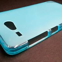 Силиконовый чехол для Acer Liquid Z520 (голубой)