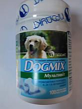 DogMix(мутивитамины для щенков и взрослых собак )100таб.