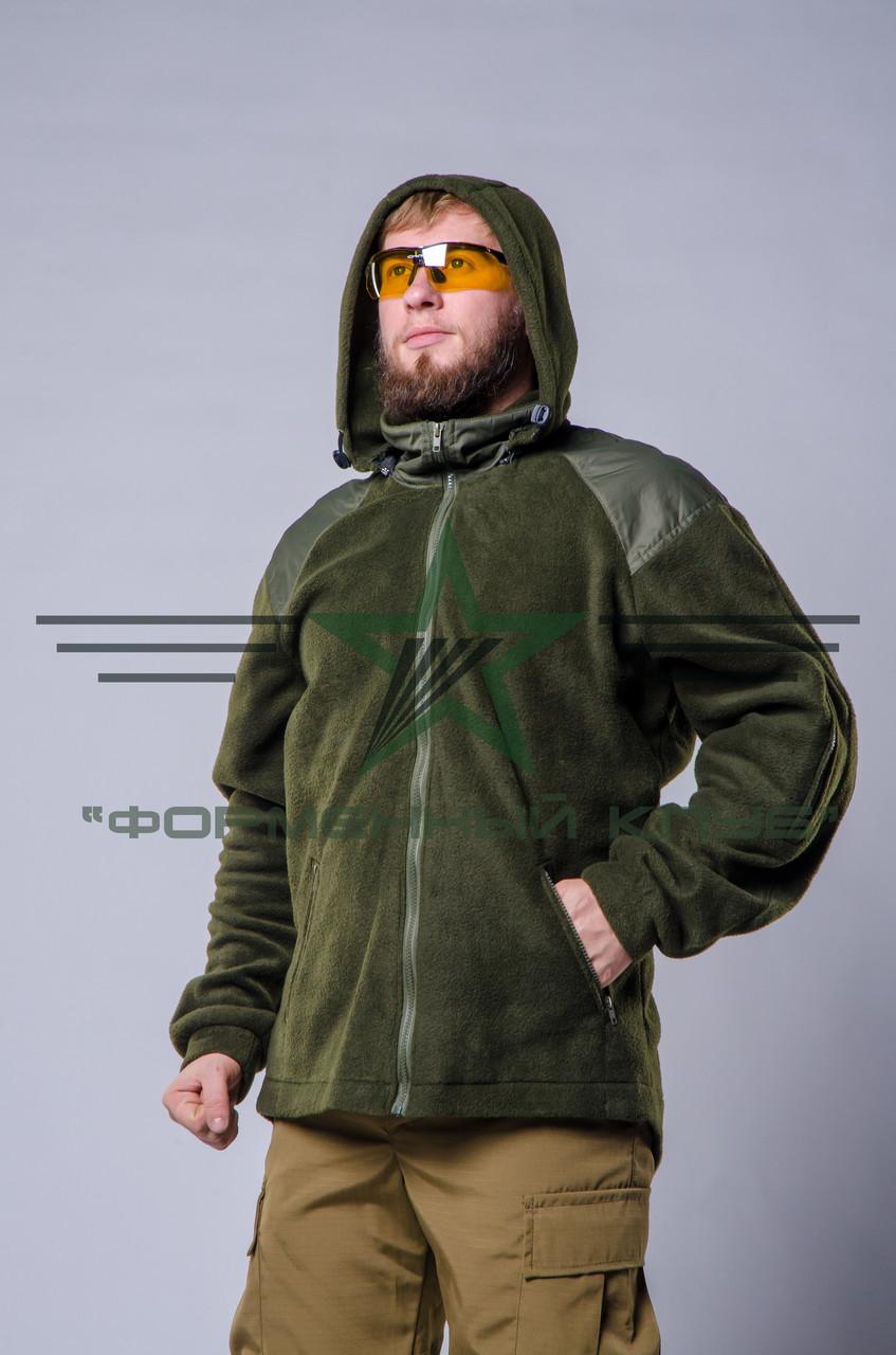 Кофта (куртка) олива флис