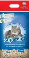 SUPER CAT Стандарт древесный наполнитель, 6 кг