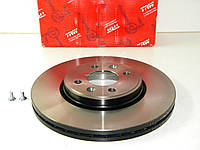 Передний тормозной диск (280x24) на Рено Лоджи 2012-> (c ESP) TRW (Германия) DF4110