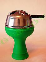 Комплект силиконовая чаша Фанель и калауд Лотус Lotus (Серебристый).