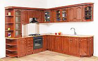 Недорогая кухонная мебель Ольга глянец, выбор элементов кухни самостоятельный