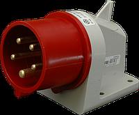 Штепсель встраиваемый IR (IP 44), 32A, 400V, 5 полюсов (IR 3253)
