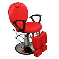Гидравлическое педикюрное кресло ZD-346 (красное)
