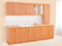 Недорогая кухонная мебель Ольга, выбор элементов кухни самостоятельный