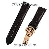 Ремешок для наручных часов Patek Philippe Sky Moon Gold-Black с застёжкой