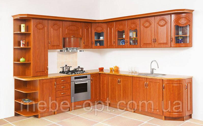 Недорогая кухонная мебель Тюльпан, выбор элементов кухни самостоятельный