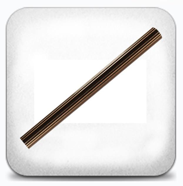 Труба рифлёная 2,0м д.19мм медь
