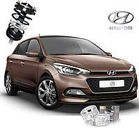 Автобаферы ТТС для Hyundai i20 (2 штуки)