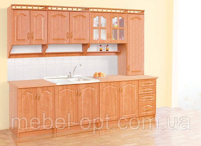 Недорогая кухонная мебель Корона, выбор элементов кухни самостоятельный