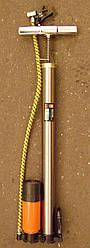 Насос ручний з ресивером і манометром 38x500mm