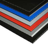 """Панель полімерна """"пластик"""" x15046s. Чорна товщина 4,6 мм. 2300мм*1600мм. Вага листа 6,624 кг. На замовлення"""