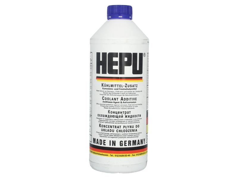 Антифриз (синий) 1.5L G11 (1:1= -38°C) Hepu